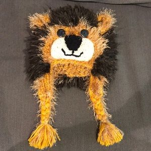 Other - Hand made Lion beanie for 1year old